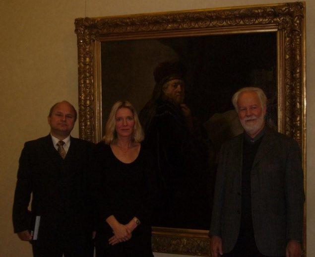 Gary Schwartz spoke on Rembrandt's Orientals in Prague in October 2010