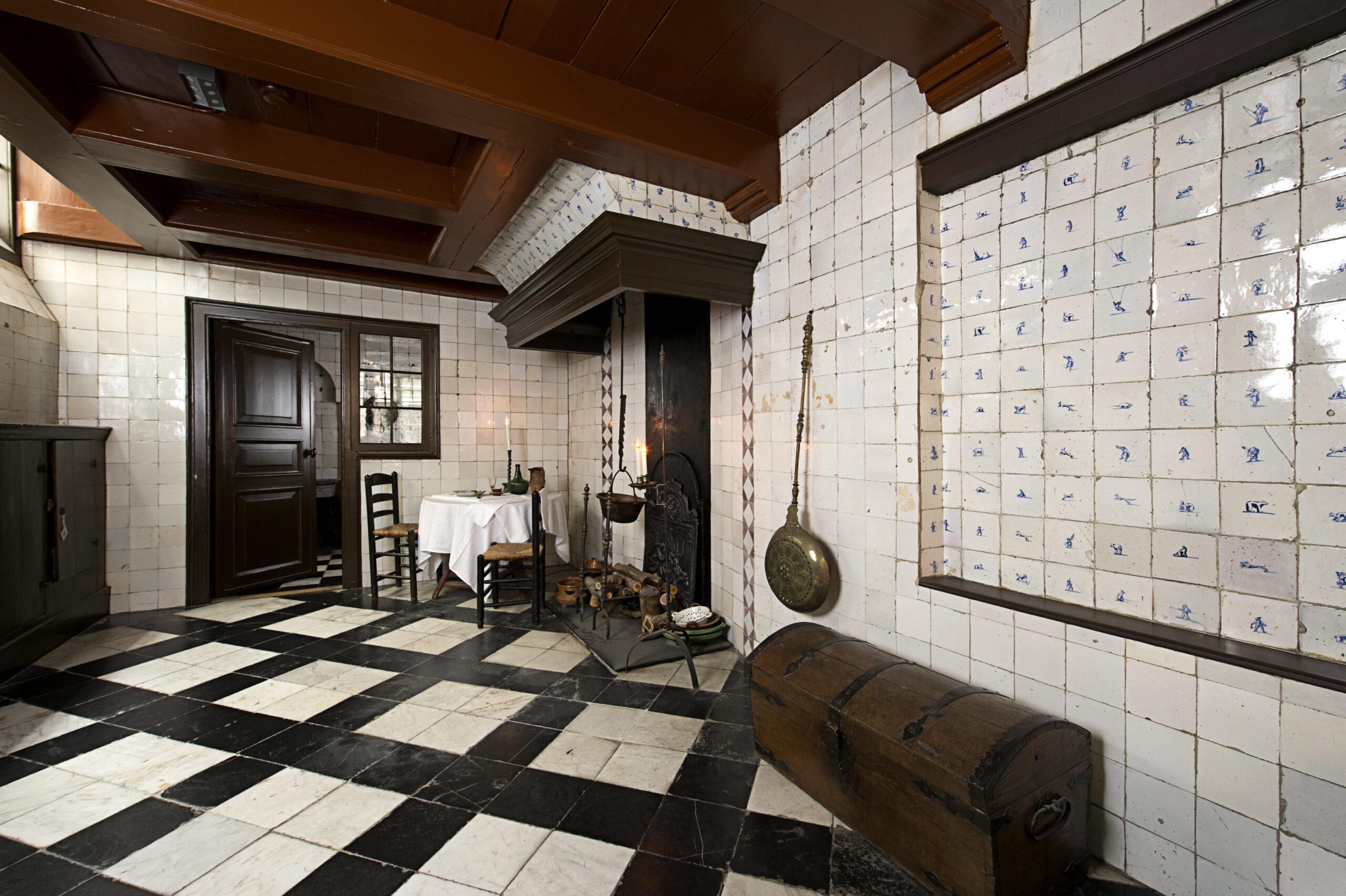 Old kitchen, Ons' Lieve Heer op Solder
