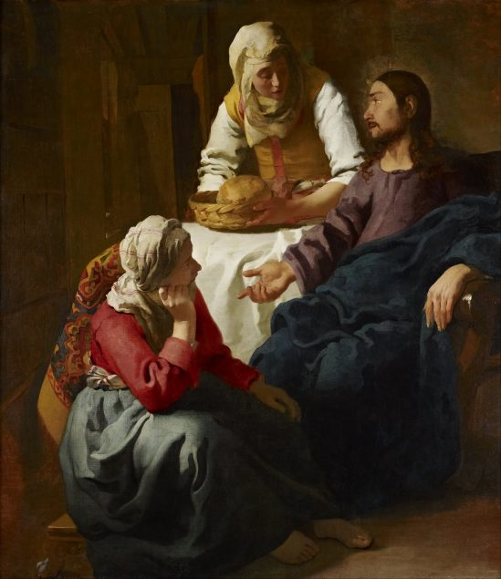 Johannes Vermeer, Christ in the House of Martha and Mary, ca. 1654-55, National Gallery of Scotland, Edinburgh