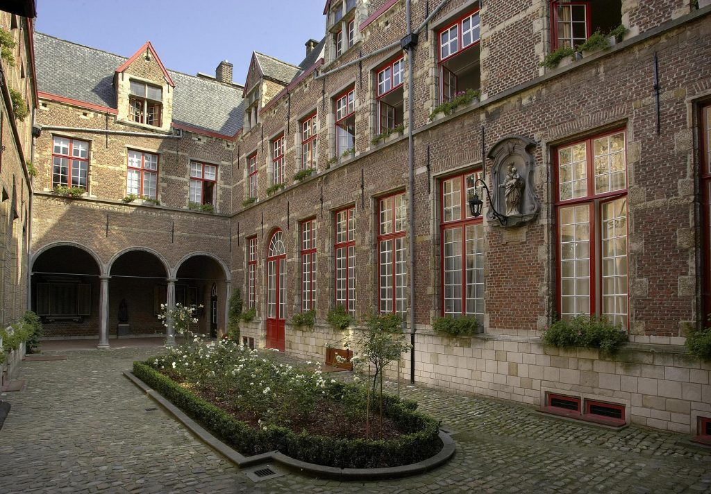 The Maagdenhuis courtyard
