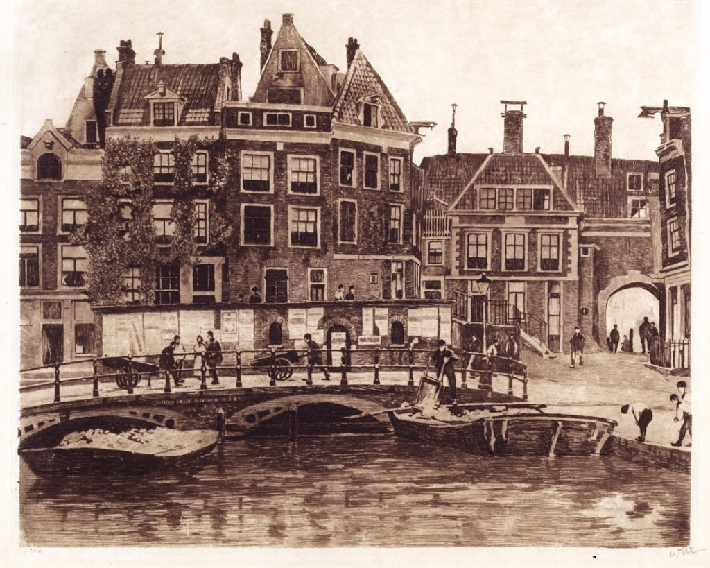 Willem Witsen (1860-1923), Beurspoortje, 1911-12, Amsterdam, Amsterdam Museum