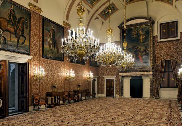 Magistrates' Chamber © Amsterdam Palace Foundation / photo Erik and Petra Hesmerg
