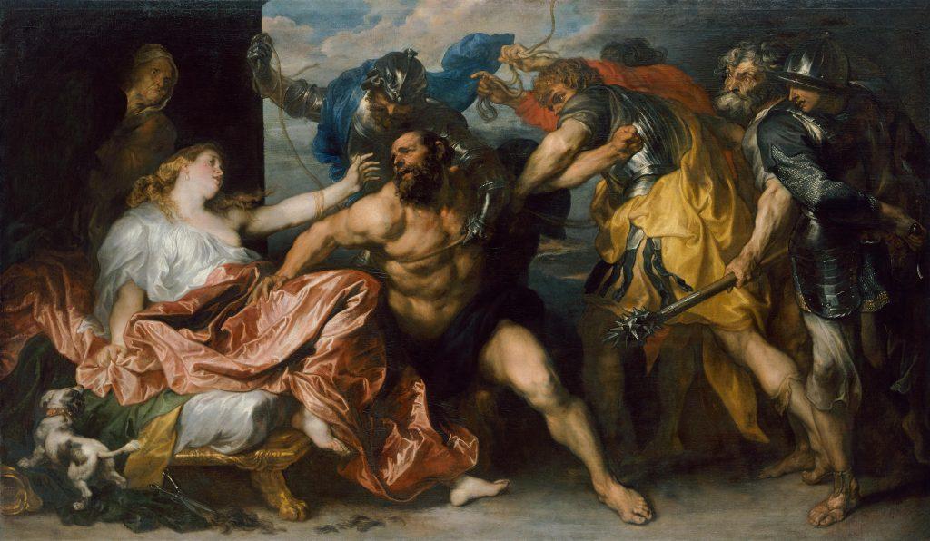 Anthony van Dyck (1599-1641), The Taking of Samson, ca. 1628/1630, Kunsthistorisches Museum, Vienna