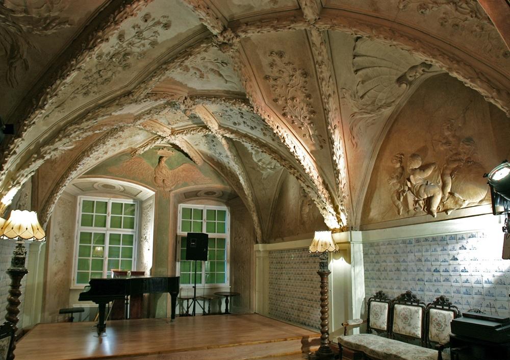 Fontana's Room, Kraków. Photograph by Piotr Oczko