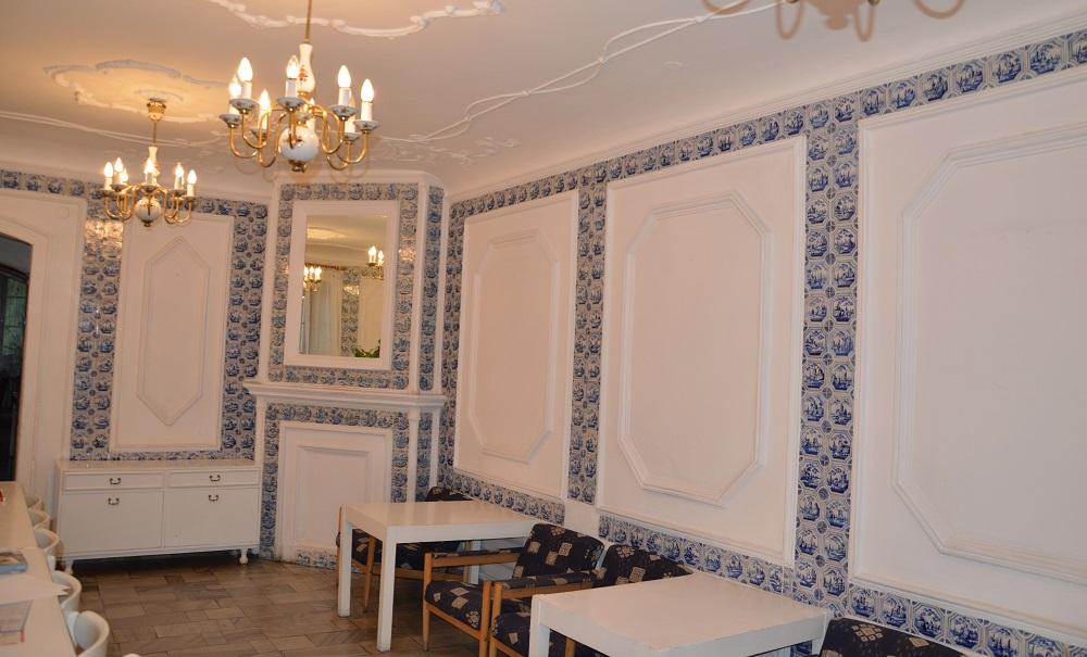 Former dining room, Krzyżowice. Photograph by Joanna Tomaszek