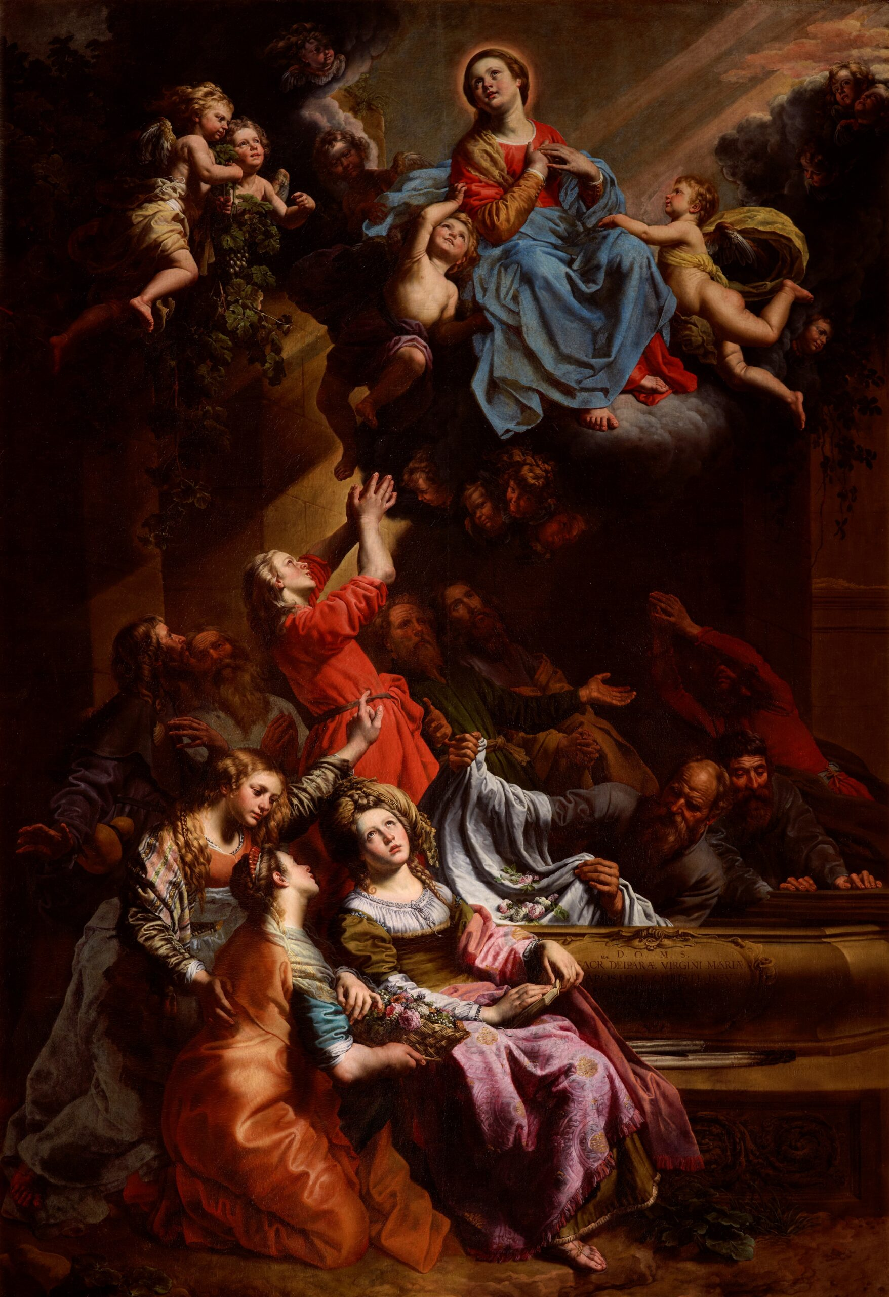 Theodoor van Loon (ca.1581-1667), The Assumption of the Virgin Mary Royal Museums of Fine Arts of Belgium in Brussels