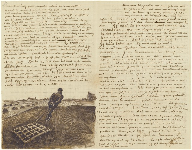 the complete illustrated and annotated edition of the letters of vincent van gogh published