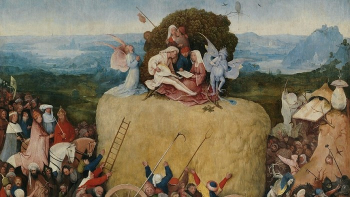 The Haywain by Jheronimus Bosch back in the Netherlands