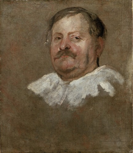 Brussels Magistrate By Anthony Van Dyck