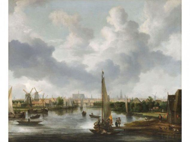 Allart van Everdingen (1621-1675), View of Alkmaar from the Zeglis, undated Fondation Custodia, Frits Lugt Collection, Paris