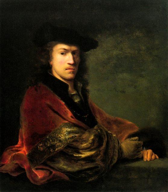 Ferdinand Bol, Self Portrait, ca. 1647