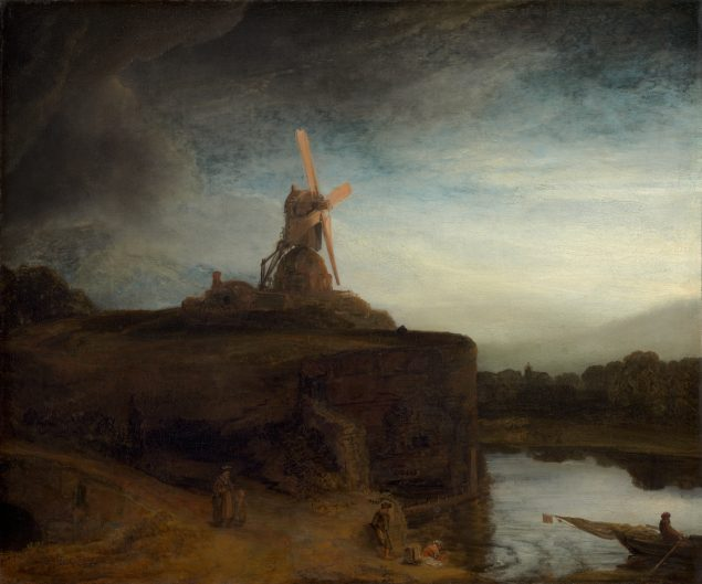 Rembrandt), The Mill, 1645/1648