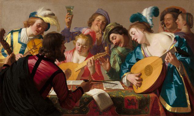 Gerrit van Honthorst, The Concert, 1623