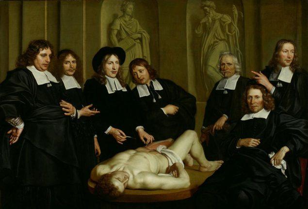Adriaen Backer (1630-1684), Anatomy Lesson of Frederik Ruysch, 1670 Amsterdam Museum, Amsterdam