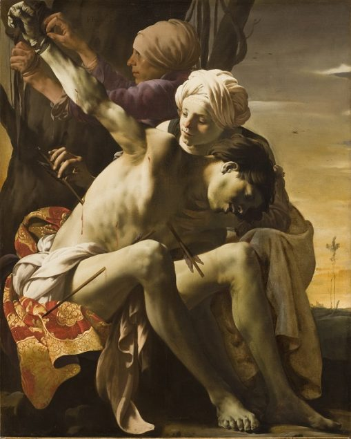 Hendrick ter Brugghen (ca. 1588-1629), St. Sebastian tended by Irene, 1625 Allen Memorial Art Museum, Oberlin College, Oberlin, Ohio. R. T. Miller Jr. Fund