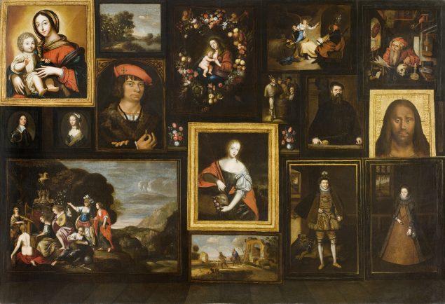 Anonymous, Bronckhorst-Batenburg Gallery Picture, ca. 1645 Museum Wasserburg, Anholt