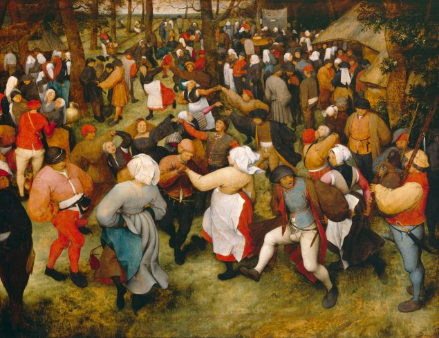 Pieter Bruegel The Elder (1525-1569), The Wedding Dance, ca. 1566 Detroit Institute of Arts, Detroit, City of Detroit Purchase