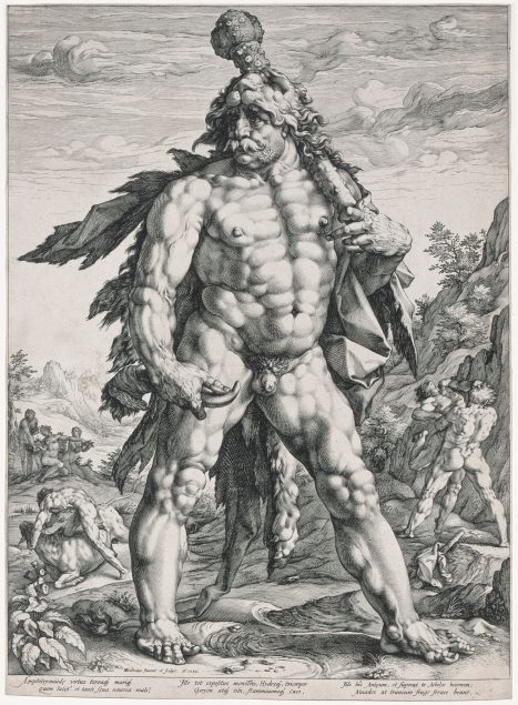 Hendrick Goltzius (1558-1617), The Great Hercules, 1589 Cincinnati Art Museum, The Albert P. Strietmann Collection and The Phyllis H. Thayer Purchase Fund