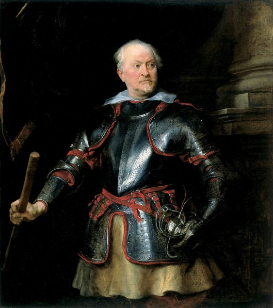 Anthony van Dyck (1599-1641), A Man in Armor, ca. 1621–27 Cincinnati Art Museum, Cincinnati, Ohio. Gift of Mary M. Emery