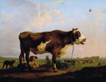 Balthasar Paul Ommeganck (1755-1826), A Bull, before 1785 Dulwich Picture Gallery, London
