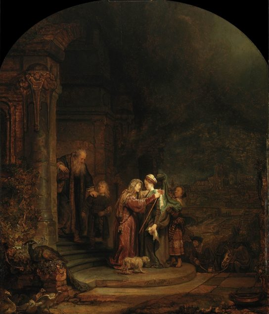 Rembrandt van Rijn, The Visitation, 1640 Detroit Institute of Art, Detroit, Michigan. City of Detroit Purchase