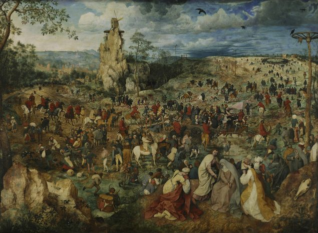 Pieter Bruegel the Elder (ca. 1525-1569), Christ Carrying the Cross, 1564 Kunsthistorisches Museum, Vienna