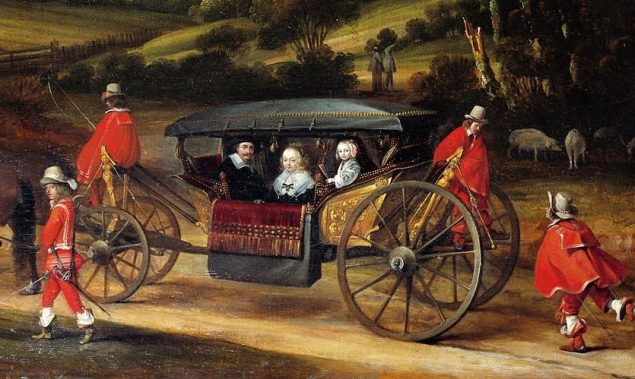 Gerard ter Borch (1617-1681), The Entrance of Dutch Envoy Adriaan Pauw into Münster (detail), ca. 1646 Stadtmuseum, Münster