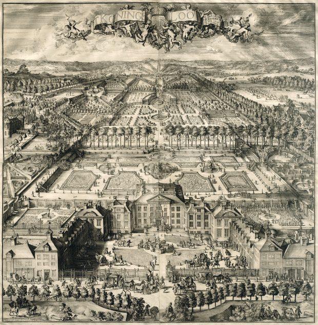 Romeijn de Hooghe (1645-1708), View of Paleis Het Loo, ca. 1690-94 Rijksmuseum Amsterdam