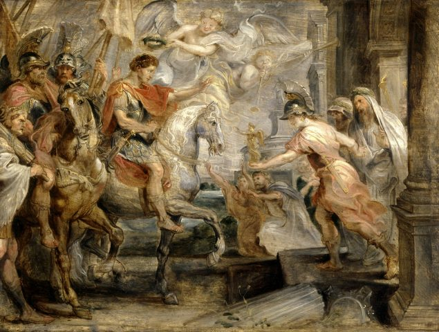 Peter Paul Rubens (1577-1640), Triumphant Entry of Constantine into Rome, ca. 1621 The Clowes Collection, Indianapolis Museum of Art, Indianapolis