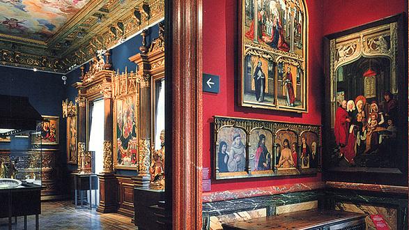 Interior of Museo Lázaro Galdiano
