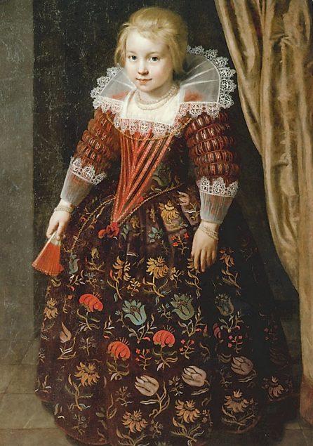 Paulus Moreelse (1571-1638), Portrait of a Girl, 1625 Weserrenaissance-Museum Lemgo