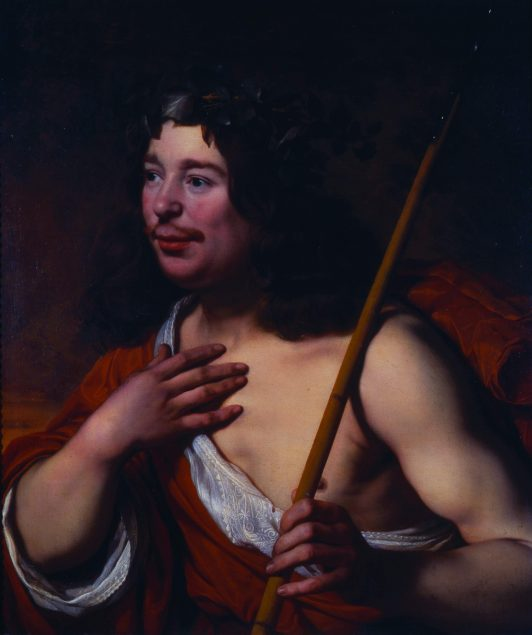 Bartholomeus van der Helst (1613-1670), Self Portrait as Daifilo, 1660 National Gallery in Prague