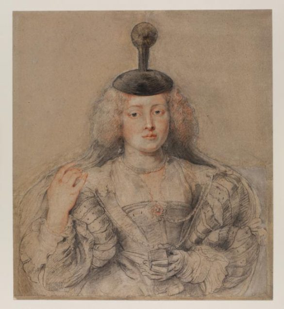 Peter Paul Rubens (1577-1640), Portrait of Helena Fourment, c. 1630-31 © The Samuel Courtauld Trust, The Courtauld Gallery London