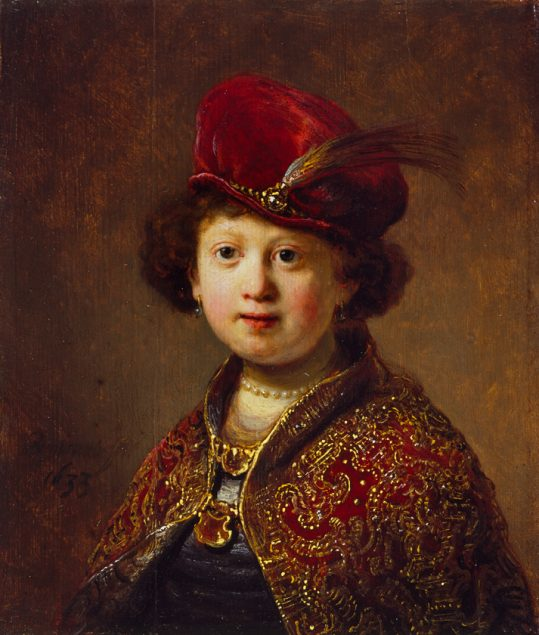 Studio of Rembrandt (1606-1669), A Boy in Fanciful Costume, 1633 © The Wallace Collection London