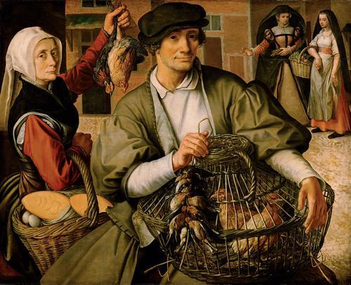 Pieter Aertsen (1508/09-1575), Market Scene, ca. 1560-65 Kunsthistorisches Museum, Vienna