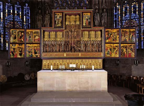 Brussels or Bruges workshop, Altarpiece, ca. 1410-20 St. Reinoldikirche, Dortmund