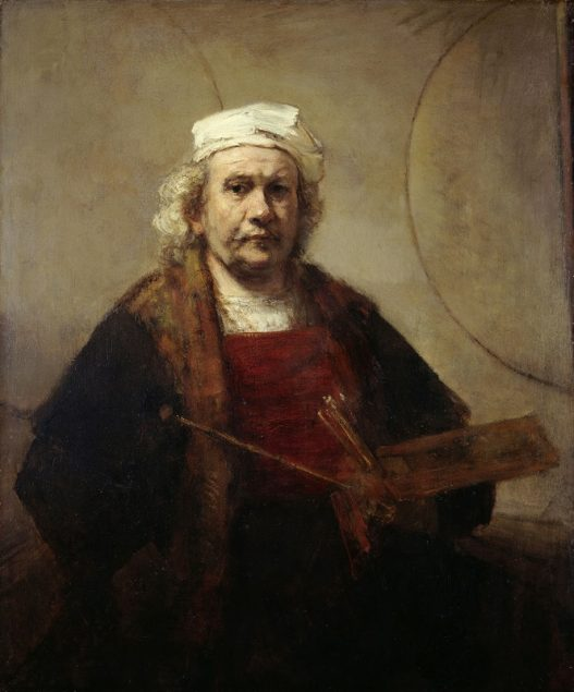 Rembrandt van Rijn (1606-1669), Self Portrait with Two Circles, ca. 1665-1669 The Iveagh Bequest, Kenwood House, London