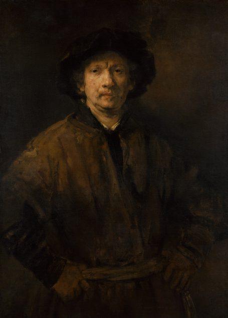 Rembrandt van Rijn (1606-1669), Self Portrait, 1652 Kunsthistorisches Museum, Vienna