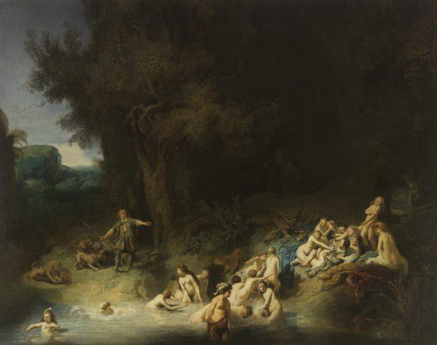 Rembrandt van Rijn (1606-1669), Diana with Actaeon and Calisto, 1634 Museum Wasserburg, Anholt