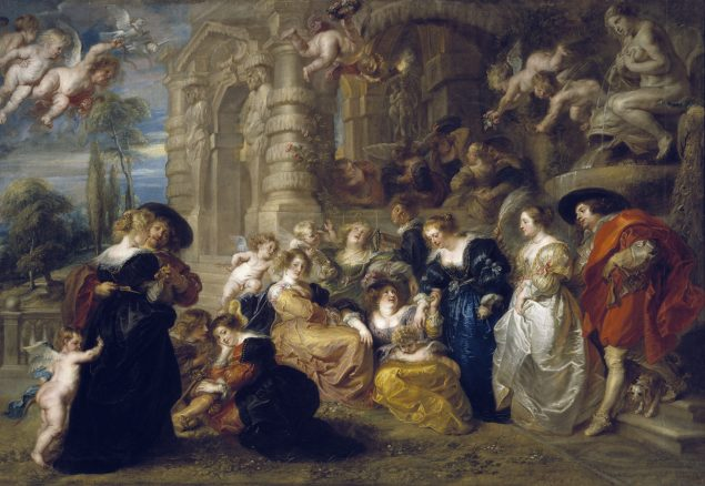 Peter Paul Rubens (1577-1640), The Garden of Love, 1633 © Museo Nacional del Prado Madrid