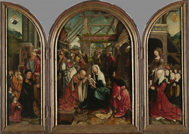 Jacob Cornelisz van Oostsanen (ca. 1470-1533), The Adoration of the Magi, 1517 Rijksmuseum Amsterdam
