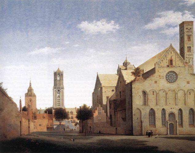 Pieter Saenredam (1597-1655), St Mary's Church in Utrecht, 1662 Museum Boijmans Van Beuningen Rotterdam