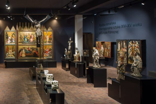 Medieval Art Gallery in the National Museum in Warsaw