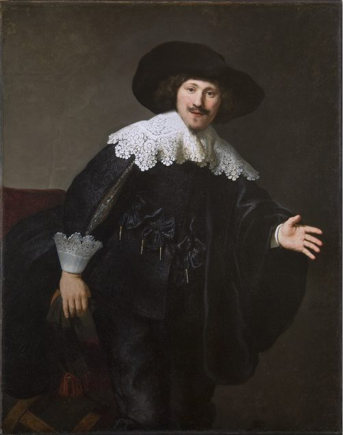 Rembrandt van Rijn (1606-1669), Portrait of a Man Rising from His Chair, 1633 Courtesy of the Taft Museum of Art, Cincinnati