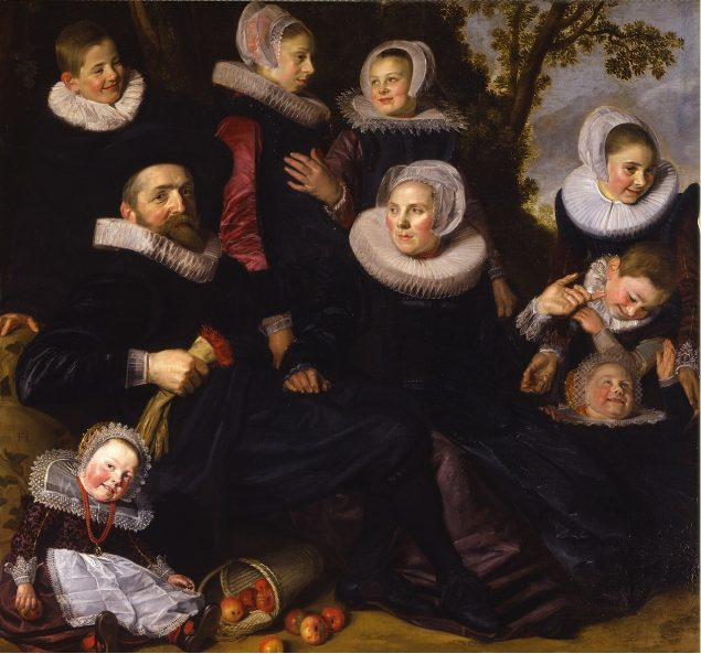 Frans Hals (ca. 1582-1666), Van Campen Family Portrait in a Landscape, early 1620s The Toledo Museum of Art, Toledo, Ohio. Purchased with funds from the Bequest of Florence Scott Libbey in Memory of her Father, Maurice A. Scott, the Libbey Endowment, Gift of Edward Drummond Libbey, the Bequest of Jill Ford Murray, and other funds