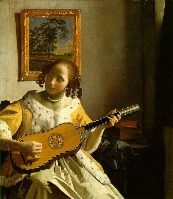 Johannes Vermeer (1632-1675), The Guitar Player, c. 1672 © Kenwood House London