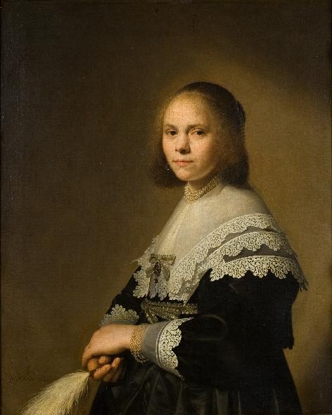 Johannes Verspronck (ca. 1600/03-1662), Portrait of a Woman, 1640 Rijksmuseum Twenthe Enschede