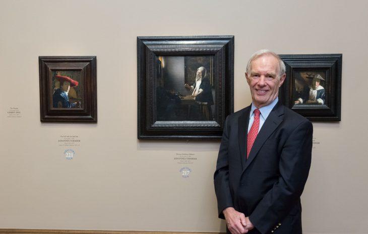 Arthur K. Wheelock Jr. in the Gallery