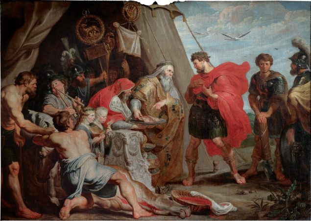 Peter Paul Rubens (1577-1640), The Interpretation of the Victim, 1616-17 Princely Collections of Liechtenstein, Vienna