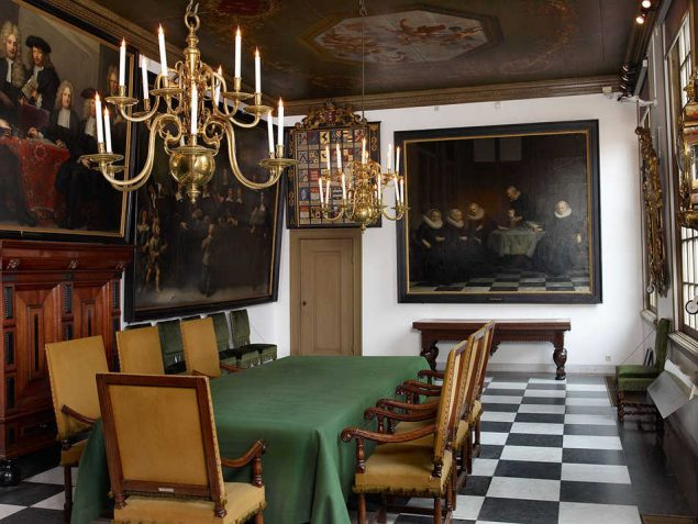 Regent's room of the City Orphanage (Amsterdam Museum)